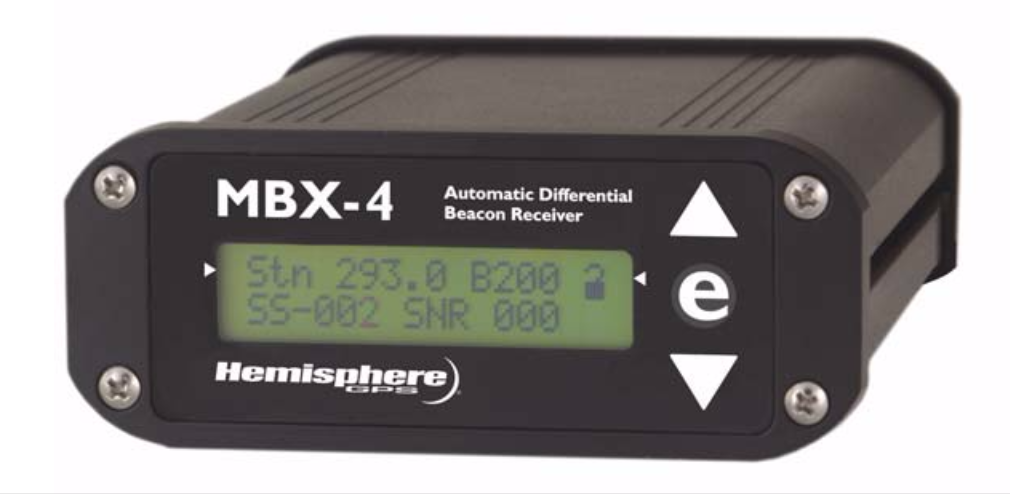 Hemisphere MBX-4 User Guide