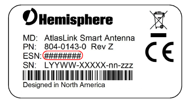How to connect Hemisphere AtlasLink to Web UI