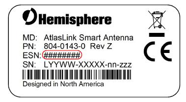 How to connect Hemisphere AtlasLink to Web UI