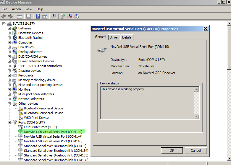 Download Novatel USB Driver