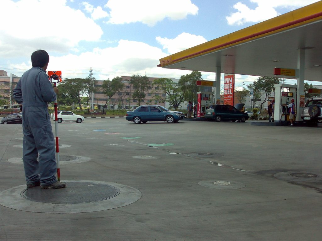 As-built Survey of Shell Commonwealth Avenue