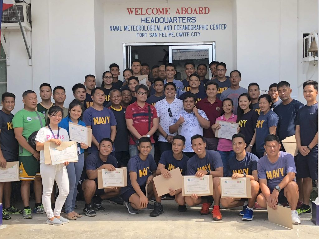 MJAS & Philippine Navy completed multibeam & single beam training