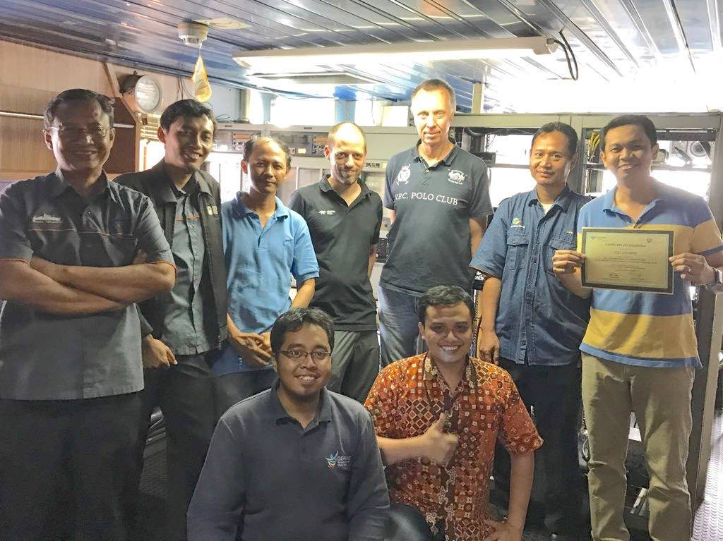 Received Teledyne HydroSweep DS Training Certificate