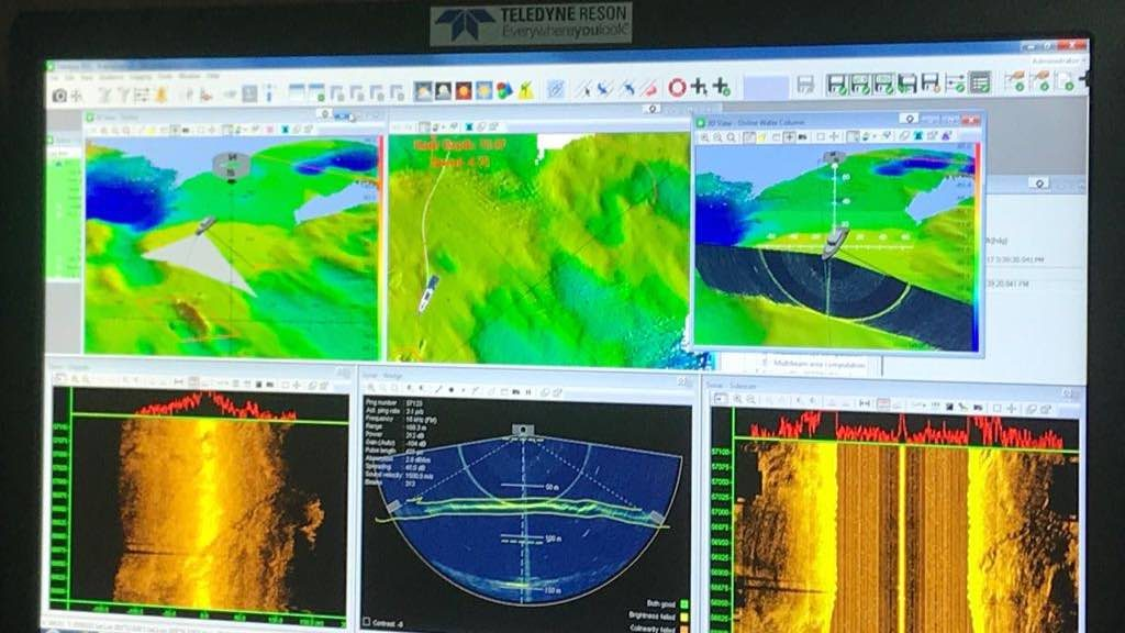 Teledyne HydroSweep on PDS Acquisition